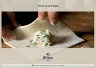 NEU! Interaktiven F&B Folder herunterladen - Hilton Austria