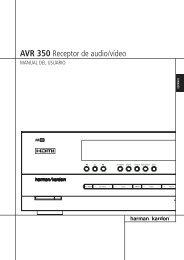 AVR 350 Receptor de audio/vídeo - Harman Kardon