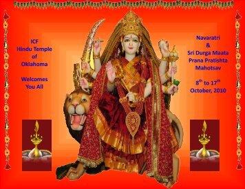 October, 2010 - Hindu Temple of Oklahoma