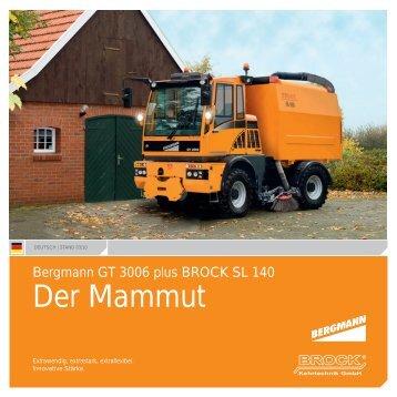 BROCK | Der Mammut | Deutsch - Brock Kehrtechnik Gmbh