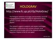 HOLOGRAV - Helsinki Institute of Physics