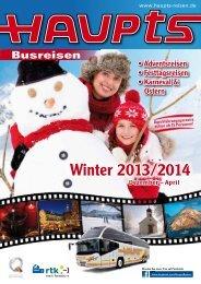 Winterkatalog 2013/2014 - Claus Haupts GmbH