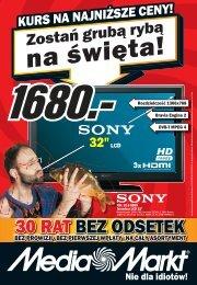 30 RAT BEZ ODSETEK - Hiperpromo