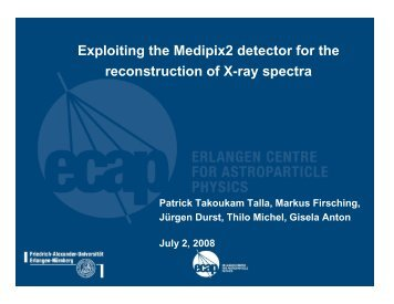 Exploiting the Medipix2 detector for the reconstruction of X-ray spectra