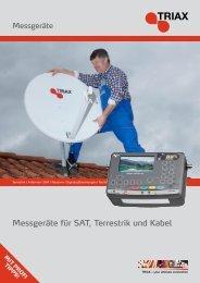 Messgeräte für SAT, Terrestrik und Kabel - Triax