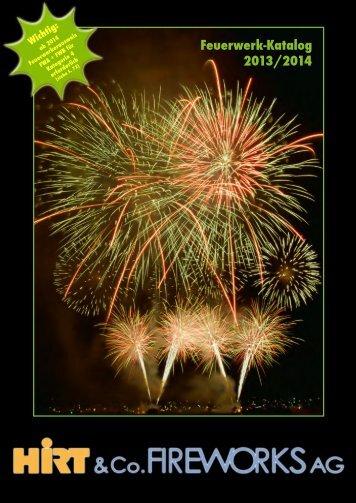 Download Katalog 2013/2014 - Hirt & Co. Fireworks AG