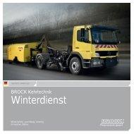 BROCK   Winterdienst   Deutsch - Brock Kehrtechnik Gmbh