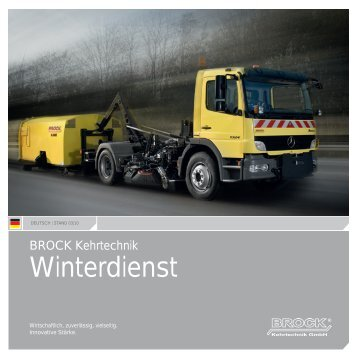 BROCK | Winterdienst | Deutsch - Brock Kehrtechnik Gmbh