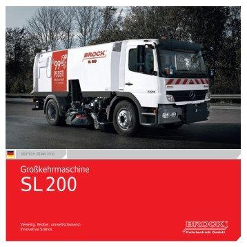 BROCK | SL 200 | Deutsch - Brock Kehrtechnik Gmbh
