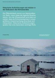 Münchner Rück (Hg.): Wetterkatastrophen und Klimawandel