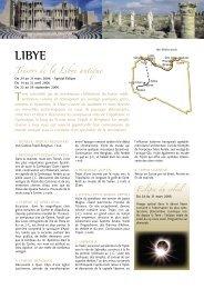 Trésors de la Libye antique - Histoire & Voyages