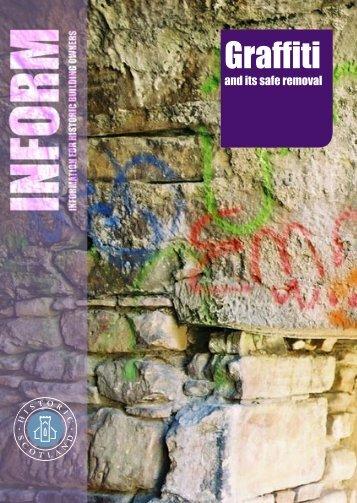Inform Guide - Graffiti - Historic Scotland