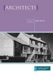 Architects - Volume 3 [pdf, 790kb] - Historic Scotland