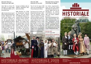 Flyer als pdf-Datei zum Download - Historiale