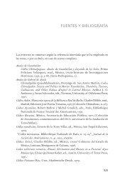 FuenTes y bibLiograFía - Instituto de Investigaciones Históricas ...