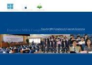 Executive MBA Compliance & Corporate Governance