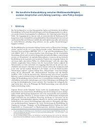 Nationaler Bildungsbericht Österreich 2012, Band 2, Kapitel 8 ... - Bifie