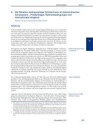 Nationaler Bildungsbericht Österreich 2012, Band 2, Kapitel 6 ... - Bifie
