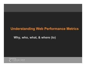 Understanding Web Performance Metrics - HIPNet