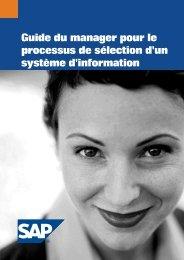 Guide du manager pour le processus de sélection d'un système d ...