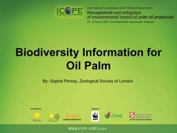 Biodiversity Information for Oil Palm - HCV Resource Network