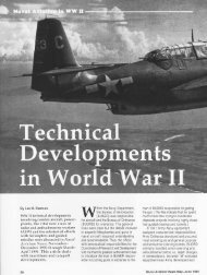 Technical Development in World War II - Naval History and Heritage ...