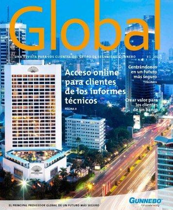 acceso online para clientes de los informes técnicos - Gunnebo