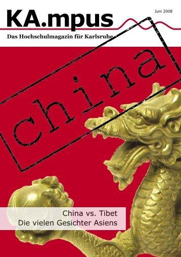 China vs. Tibet Die vielen Gesichter Asiens - HIT-Karlsruhe
