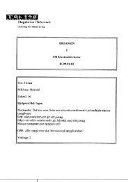 Eksamen januar 2002 (PDF, 624,26 kB) - Høgskolen i Telemark