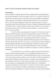 Den danske museumslov mellem teori og praksis Problemstilling ...