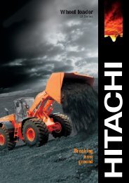 PDF (3.9MB) - Hitachi Construction Machinery