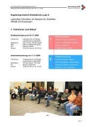 Ergebnisprotokoll Arbeitskreis Lupe 4 Lebendige ... - Herrenberg
