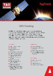TagTrack GPS Vehicle Tracking Systems with Tag Systems
