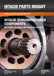 HITACHI PARTS INSIGHT - Hitachi Construction Machinery