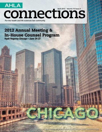 2012 Annual Meeting & In-House Counsel Program - The American ...