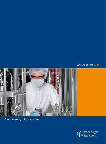 Annual Report 2005 - Boehringer Ingelheim