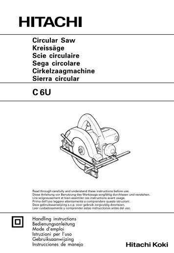 C 6U Circular Saw Kreissäge Scie circulaire Sega circolare . 1998e657a9f9