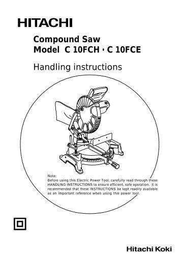 hitachi ec12 manual download