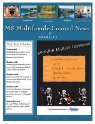 MS Multifamily Council October 2010