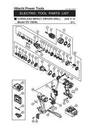 Model DV 18DSL CORDLESS IMPACT DRIVER DRILL