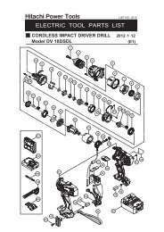 Model DV 18DSDL CORDLESS IMPACT DRIVER DRILL