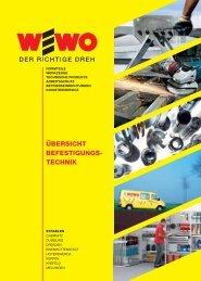 ÜBERSICHT BEFESTIGUNGS- TECHNIK - Wewo