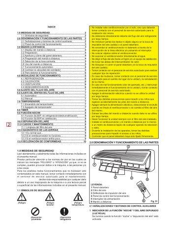 Page 1 MANUAL DE USO Y MANTIENIMIENTO >> serie VEMA ...
