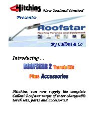 Roofstar Torches and Accessories - Hitchins