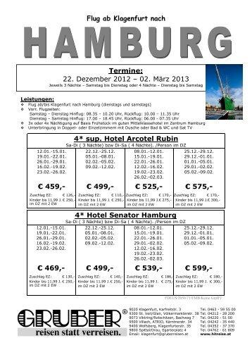 Hamburg Prospekt - HITREISE