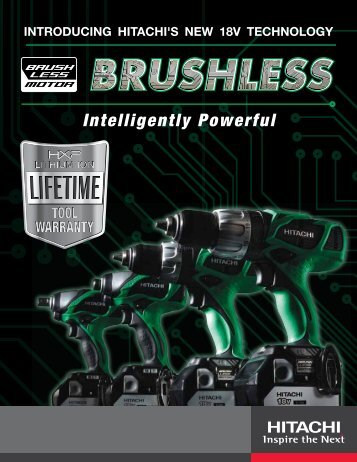 Intelligently Powerful - HITACHI Power Tools