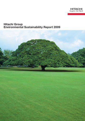 Hitachi Group Environmental Sustainability Report 2009(PDF format)