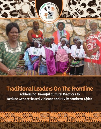 Traditional Leaders On The Frontline - K4Health