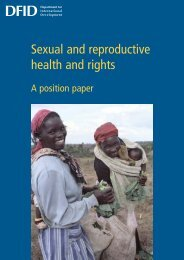 Sexual and reproductive health and Rights. A ... - hivpolicy.org