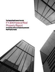 FY 2010 Federal Real Property Report - GSA